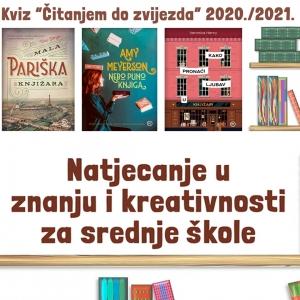 ČITANJEM DO ZVIJEZDA ZA SREDNJE ŠKOLE 2020./2021.