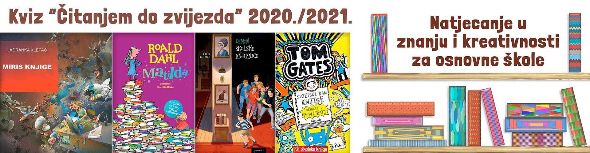 Čitanjem do zvijezda 2020 2021