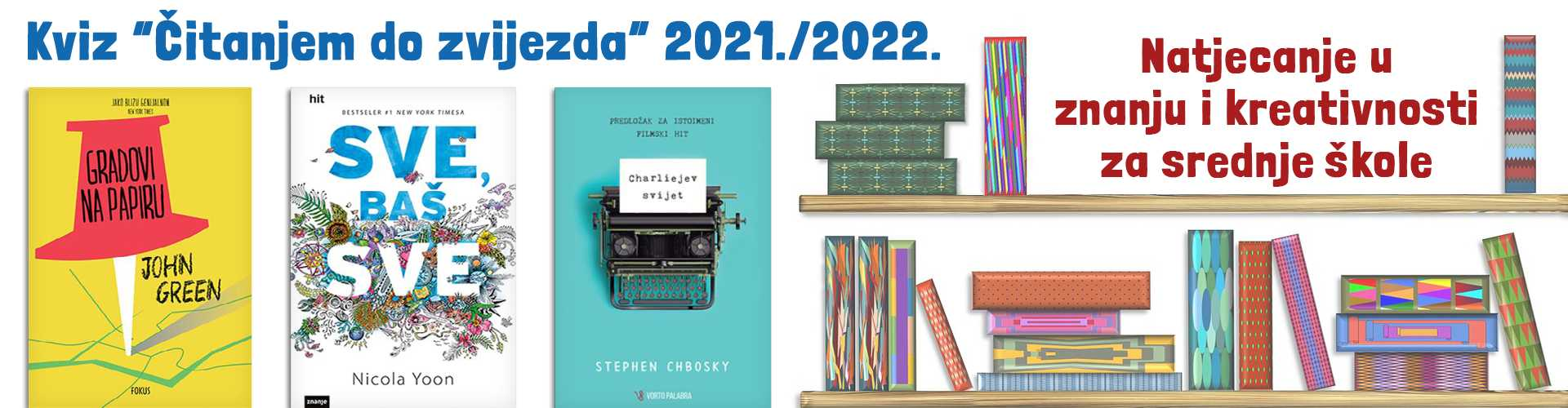 Citanjem do zvijezda SŠ – 2021 – 1920-500